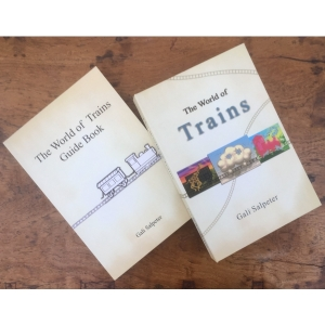 The world of trains - Kartenset