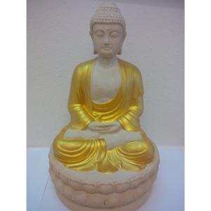 Buddha goldener Farbe Statue