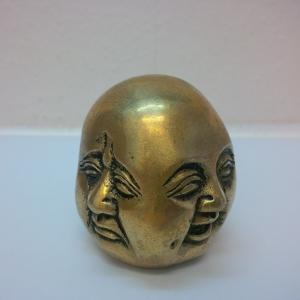 Buddha Kopf vier Emotionen 5 cm