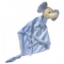 Schmusetuch- Elefant- Blau