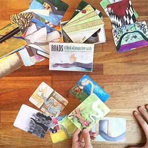 Roads/Wege - Kartenset